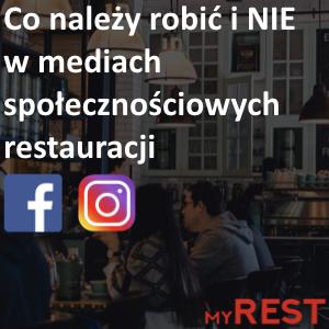 Co należy robići NIE w mediach społecznościowych restauracji
