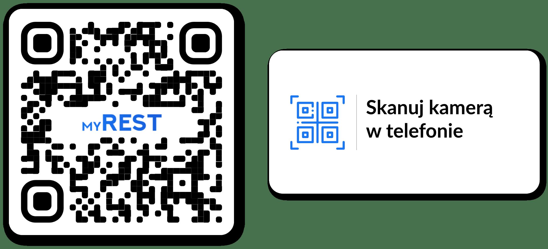 QR Przykład dla restauracji – myREST SmartMenu